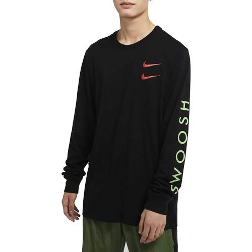 Мъжка блуза Nike M NSW LS TEE JDI CUT OUT LBR