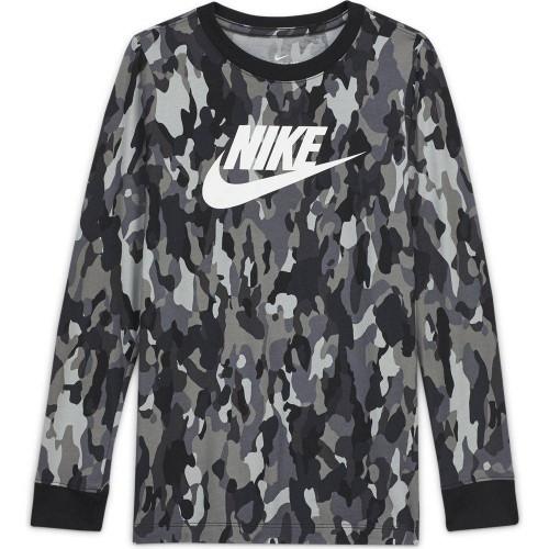 Детска блуза Nike B NSW TEE LS AOP 3