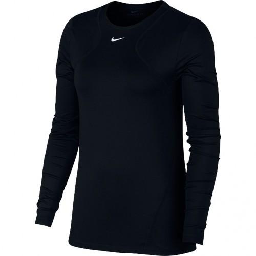 Дамскa блуза Nike W NP TOP LS ALL OVER MESH