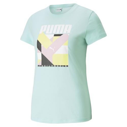 Дамска тениска Puma Metal Splash Deep Women's Training