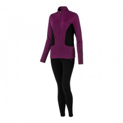 Дамски екип Puma Graphic Legging Sweat Suit W Dark Purple