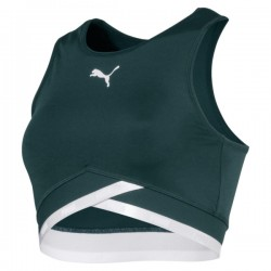 Дамско бюстие PUMA Soft Sports Women's Crop Top